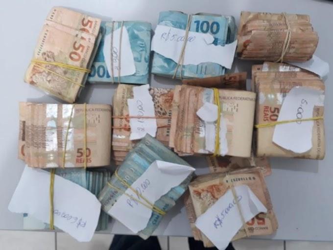 Polícia prende dois homens que disputam ex- mulher em Pontes e Lacerda; R$ 51 mil apreendidos