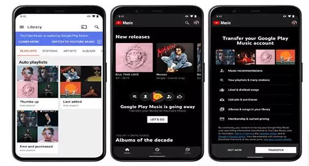 YouTube Music killed Google Play Music