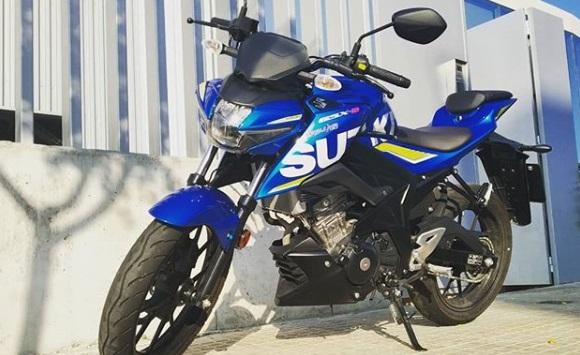 Suzuki GSX 125 cc Naked Sport