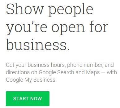 Google My Business ke site par jaye, START NOW ki button par click kare