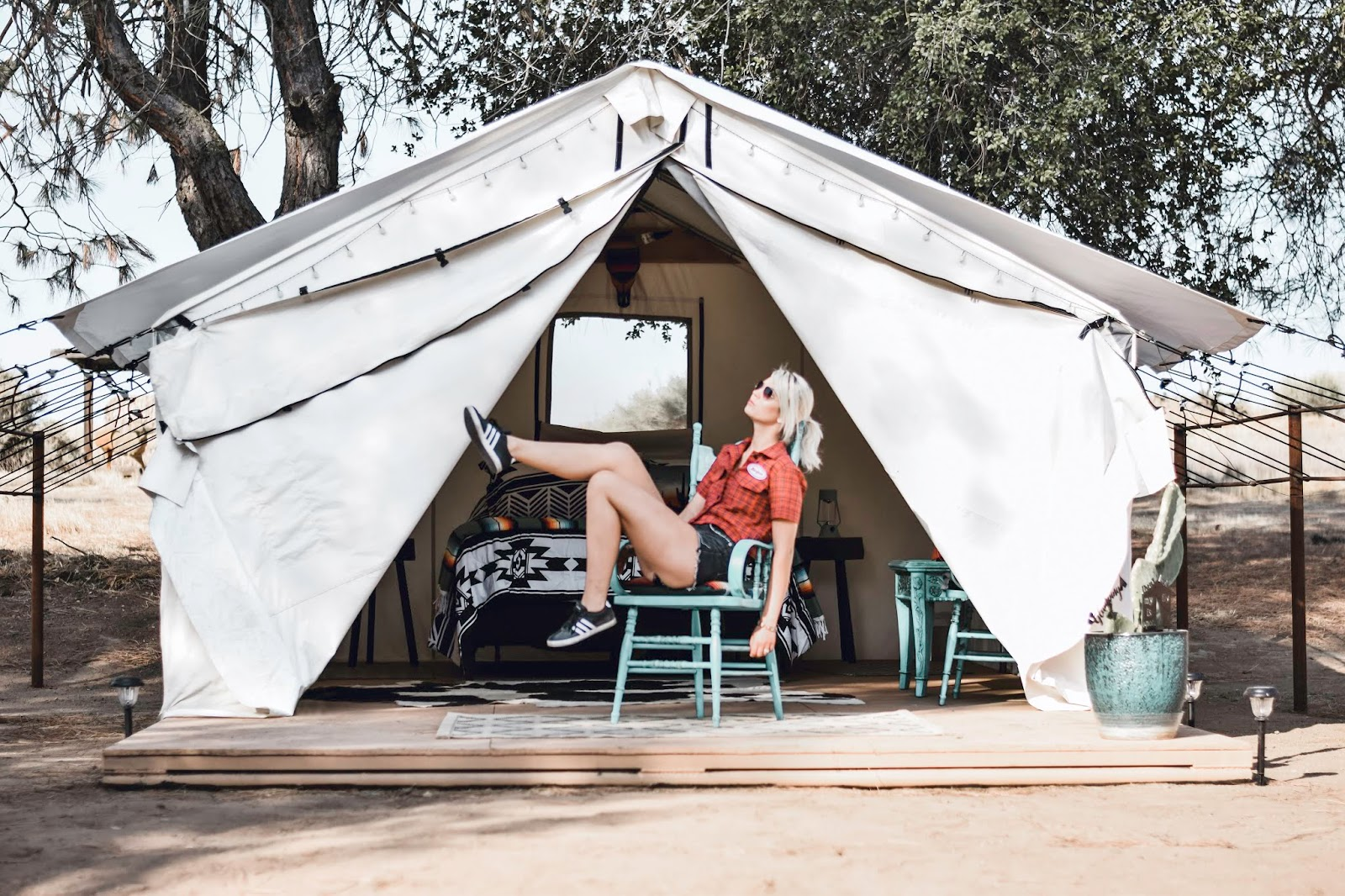 Twisselman ranch glamping