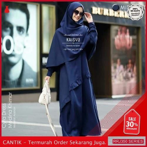 Jual RRJ350D100 Dress Cyra Syari Wanita Mc Terbaru Trendy BMGShop