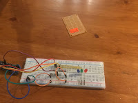 Transferring the circuit to the breadboard