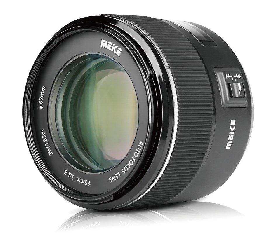 Meike 85mm f/1.8 для Nikon F