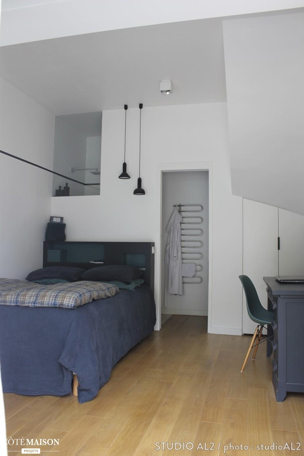inspiration transformer un garage en chambre initiales gg. Black Bedroom Furniture Sets. Home Design Ideas