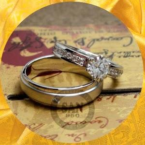 cincin kawin perak p5846