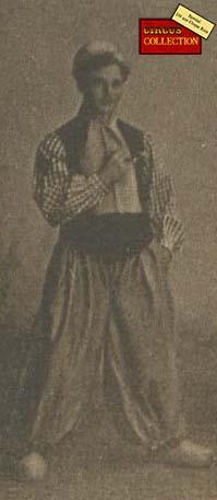 Charles Knie en costume Hollandais