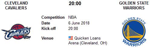 Cleveland Cavaliers vs Golden State Warriors en VIVO