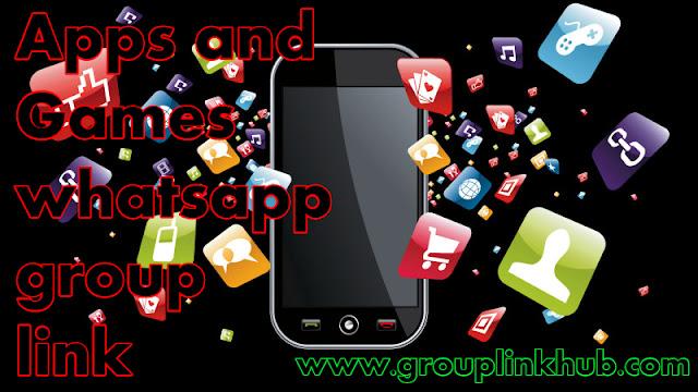 Apps and Game whatsapp group link | Grouplinkhub - window