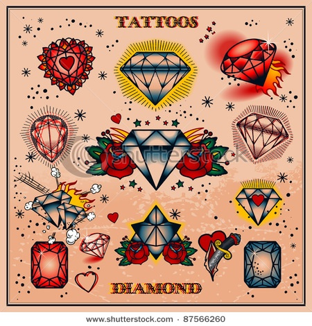 Tatuajes De Diamantes Belagoria La Web De Los Tatuajes
