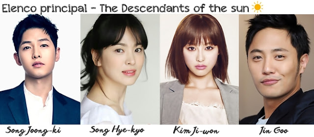 Elenco de Descendants of the sun
