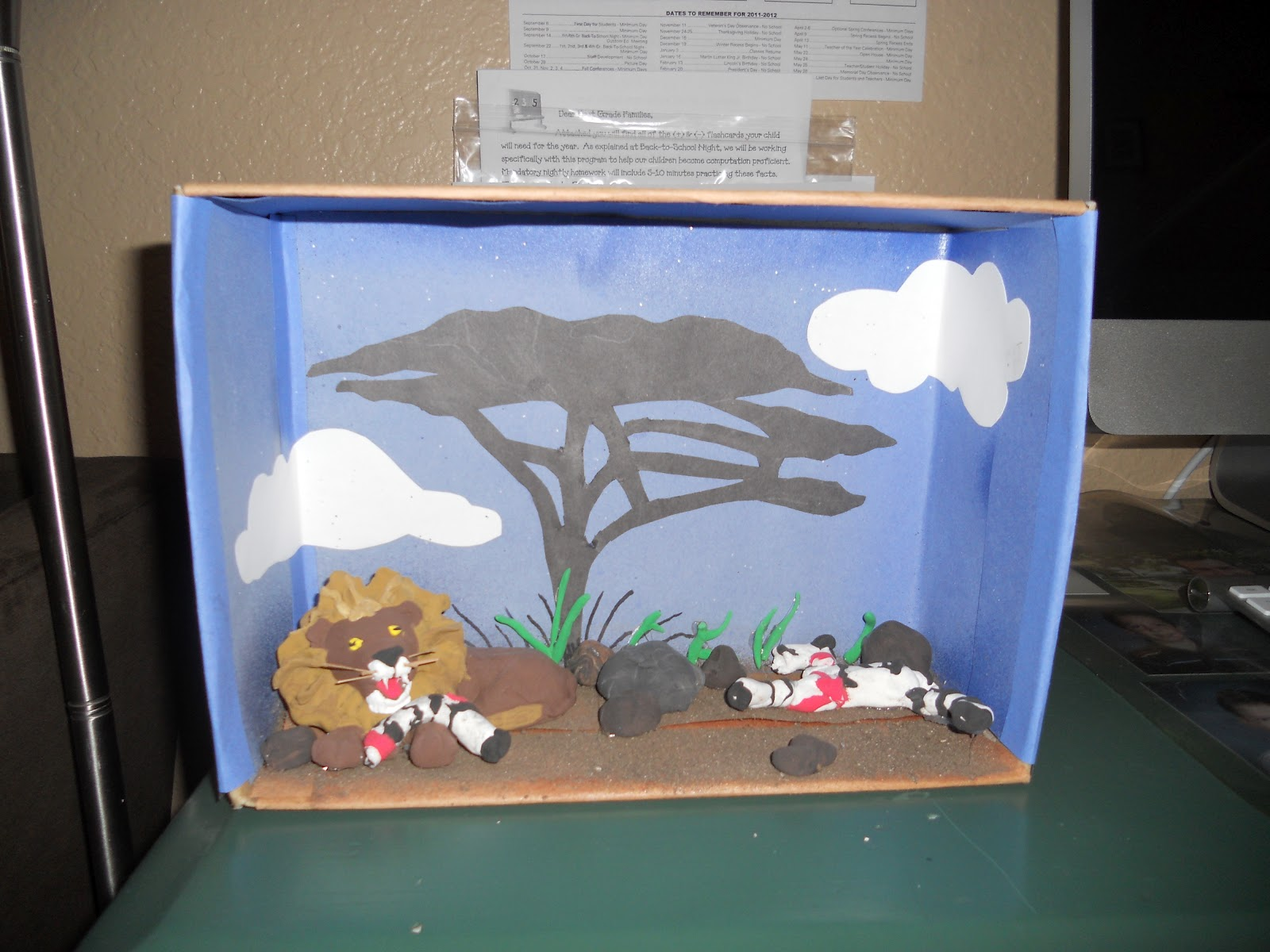 Kids Diorama With Details: The Crazy Crouts: Diorama BABY