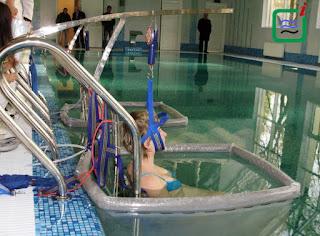 Витягування хребта подводное вытяжение
