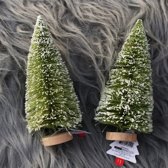 Mini Flocked Christmas Tree