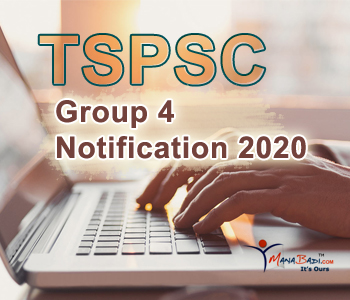 TSPSC Group 4 Notification 2020