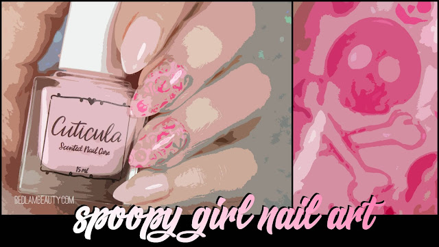 Cuticula Blush Base Coat | Blushing Skulls Jelly Sammich