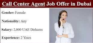 Call Center Agent Jobs In Dubai | Any Nationality Can Apply