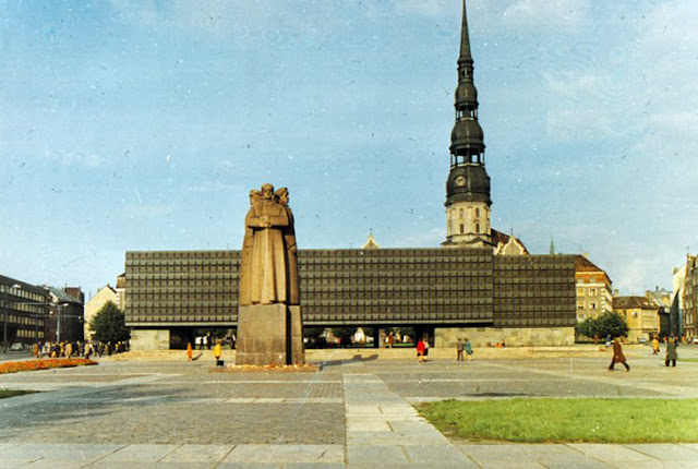 Монумент и музей латышским стрелкам