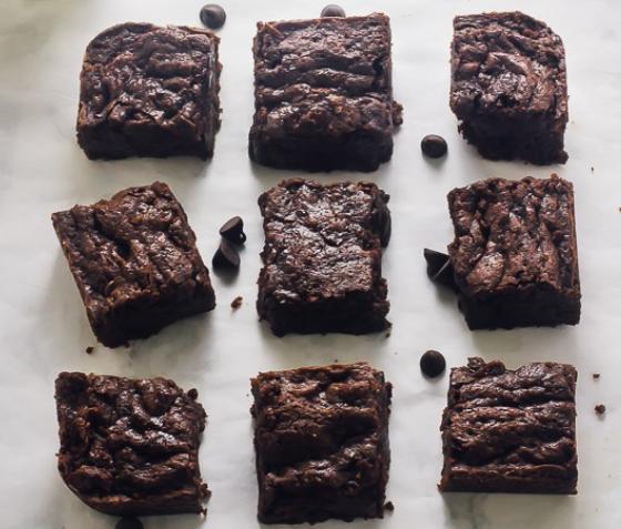 Vegan Chocolate Brownies #brownies #chocolate #dessert #recipes #vegan