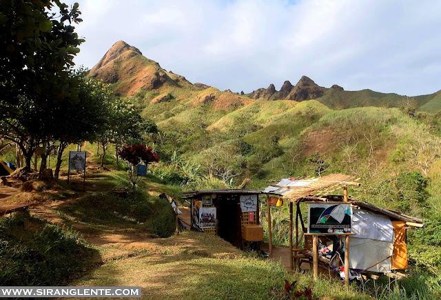 Mt. Batulao campsite