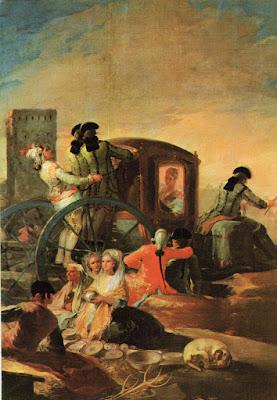 Postal de Museo del Prado, El Cacharrero, Goya. Editorial Savir.