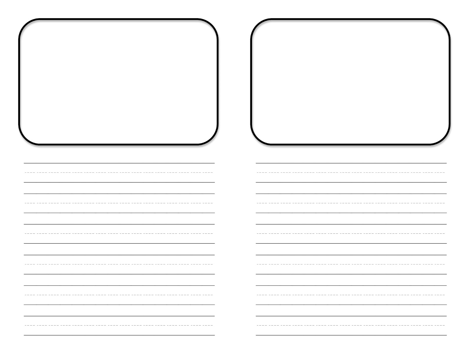 first grade template - Free Templates For Kids