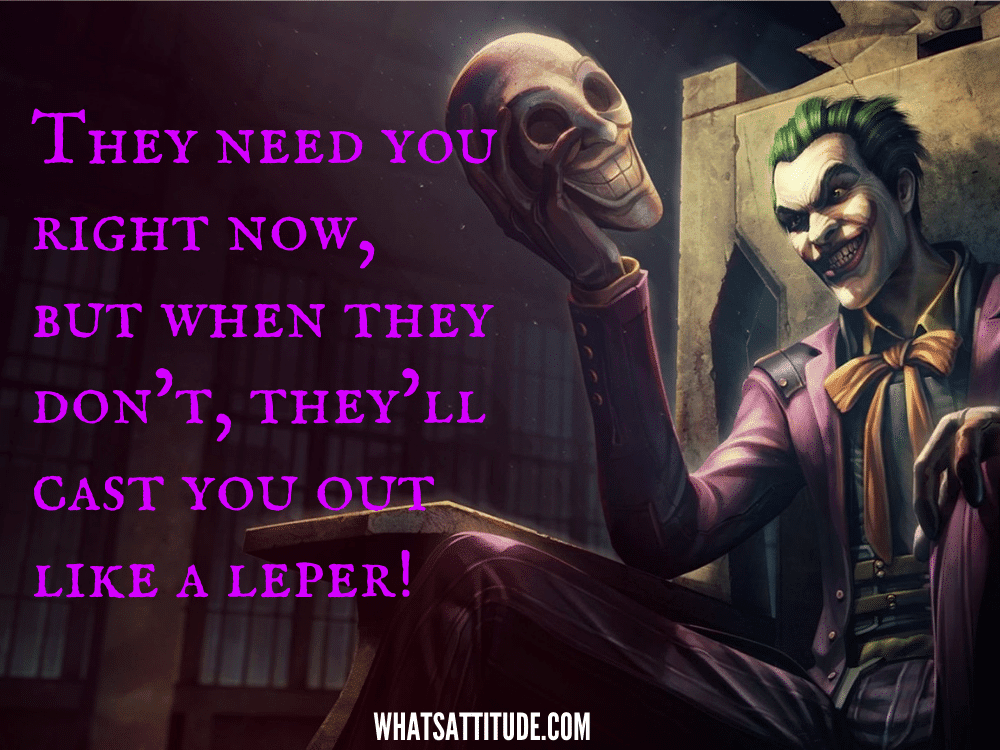 best joker quotes