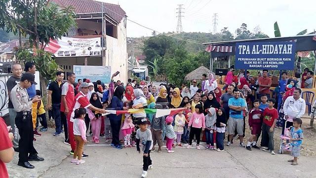 Meriahkan HUT RI, PPWI Bandar Lampung Gelar Jalan Sehat Bersama Warga