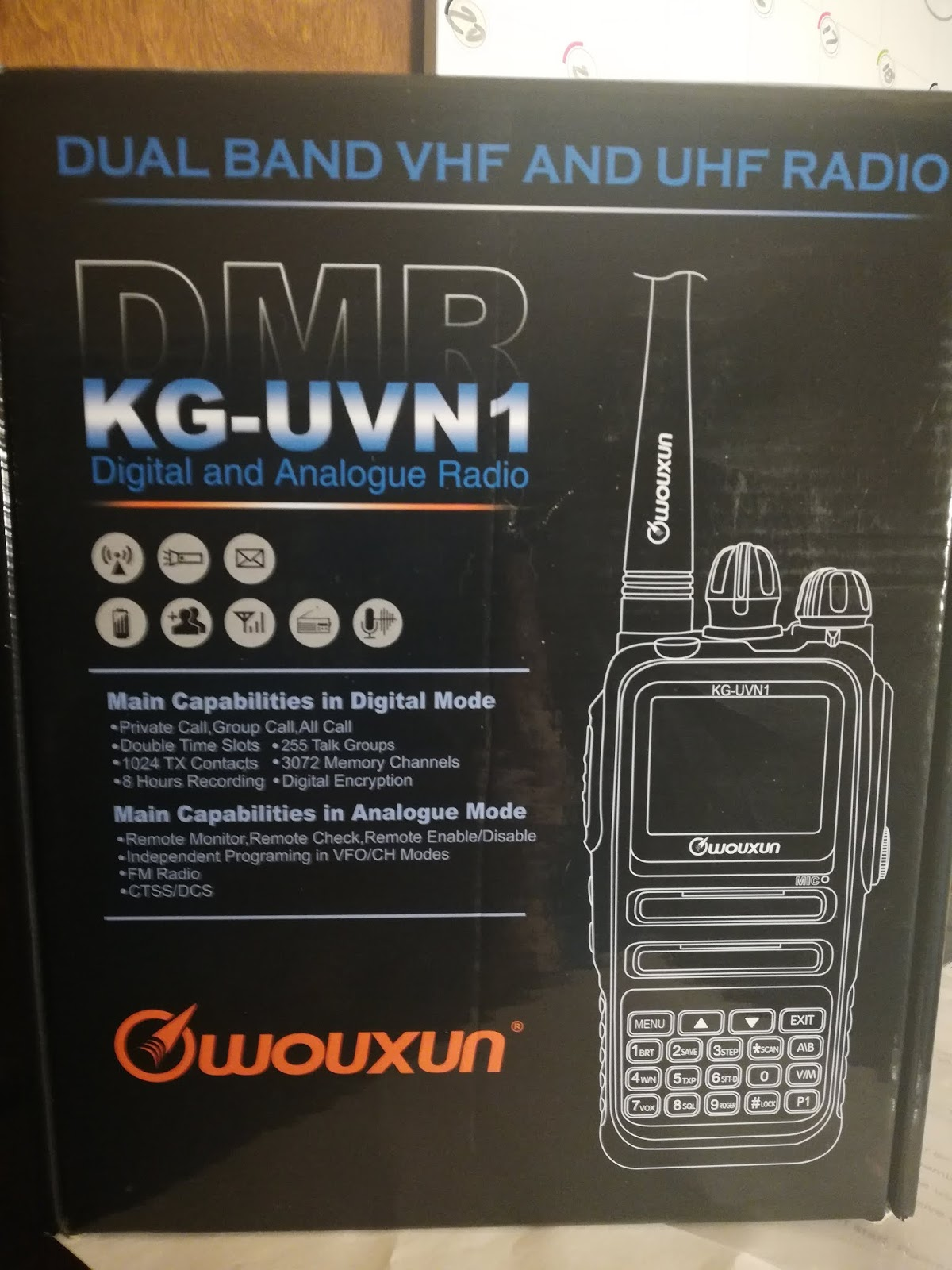 The Wouxun KG-UVN1 Update   DMR User Database Now Supported