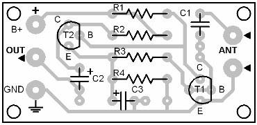 Parts Placement Layout Atmospheric Disturbance Detector