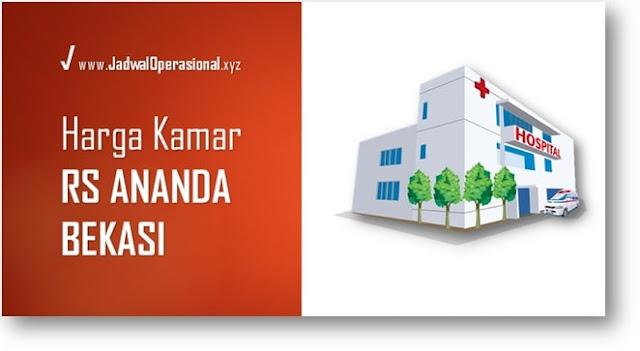 Harga Kamar RS Ananda Bekasi