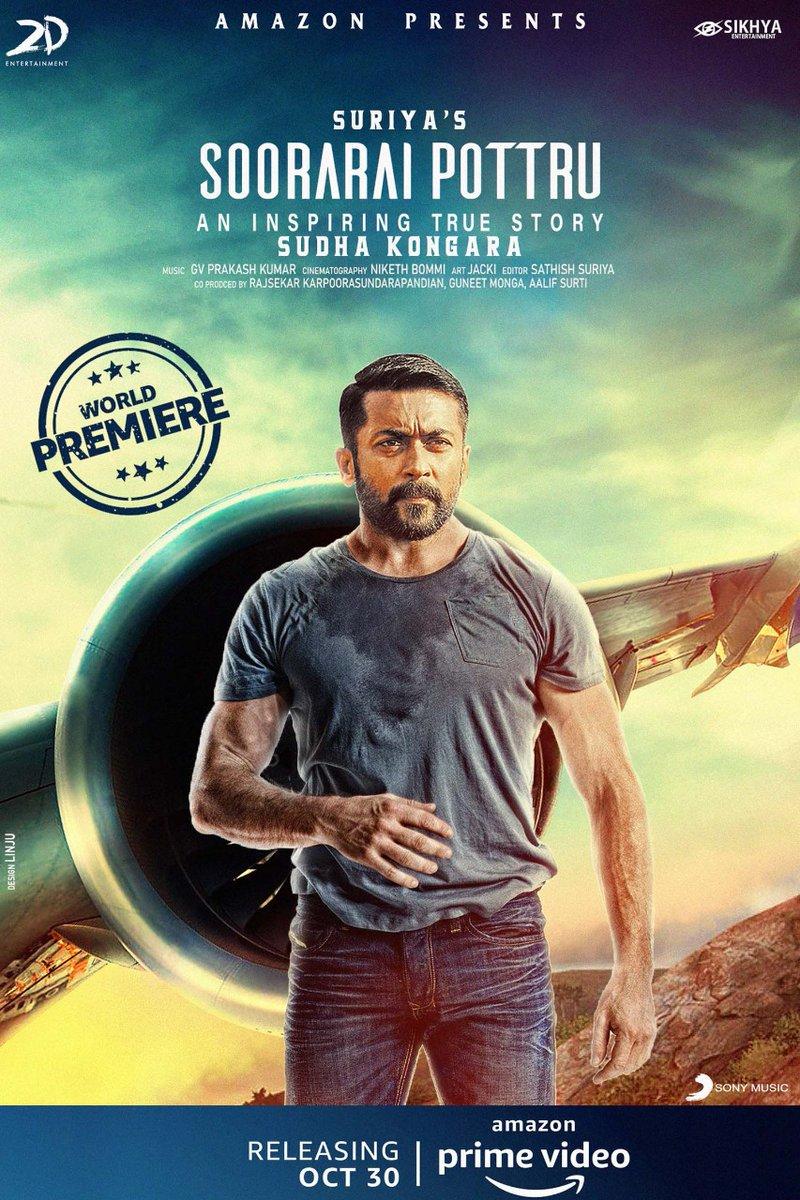 Soorarai Pottru (2021) Hindi Dubbed 1080p WEB-DL 2.6GB Free Download