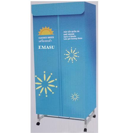 Máy sấy quần áo Emasu Nhật Bản JEG-1108 chính hãng 100% cho khả năng sấy vượt trội, tăng độ bền gấp 3 lần so với các dòng máy sấy thông thường khác