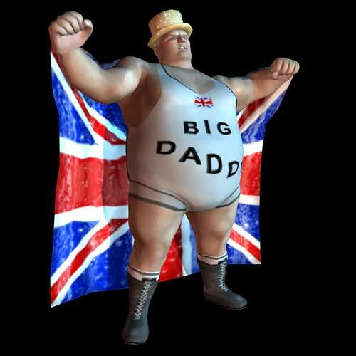 Big Daddy in Legends of wrestling 2