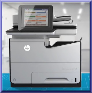 HP PageWide MFP 586dn Wireless Setup
