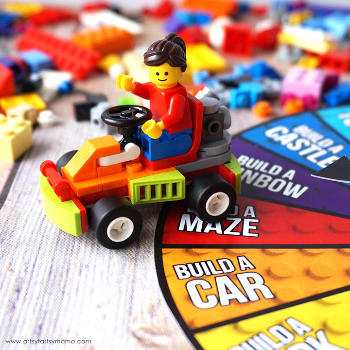 Free Printable Lego Challenge Game Artsy Fartsy Mama