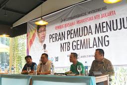 Gubernur NTB Berikan Motivasi Mahasiswa NTB Di Jakarta