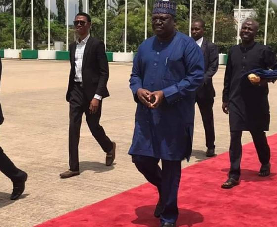 Senate President, Ahmad Lawan Heads To Egypt To Support Super Eagles Against Algeria Tonight
