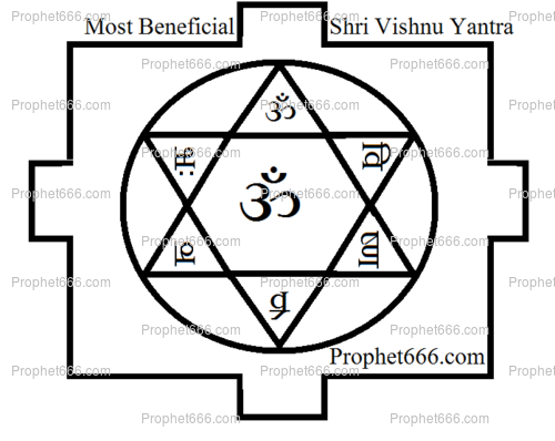 Most Beneficial Shri Vishnu Yantra