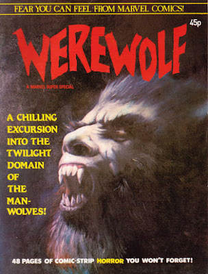 Werewolf #1, Marvel UK