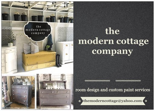 the modern cottage company custom painting