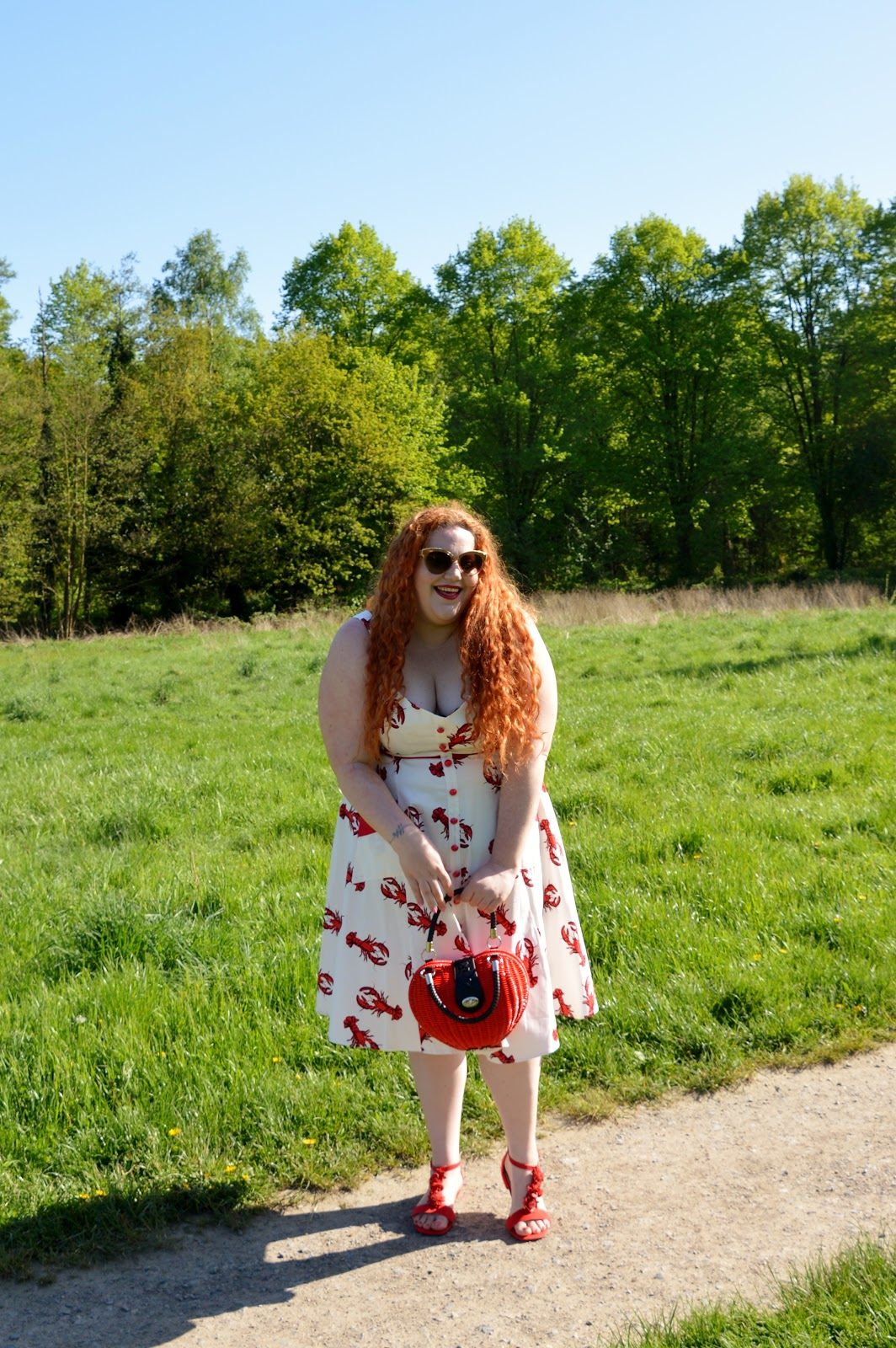 Cute print - check! Good fit - check! Summer vibes - check! These little  lobsters from Collectif are going to be one of my summer favourites, I can  tell.