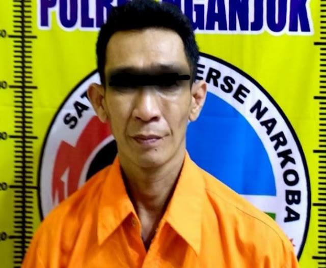Hukum dan Kriminal, Sabu-sabu, Satresnarkoba Polres Nganjuk, Polres Nganjuk, Kabupaten Nganjuk, Nganjuk
