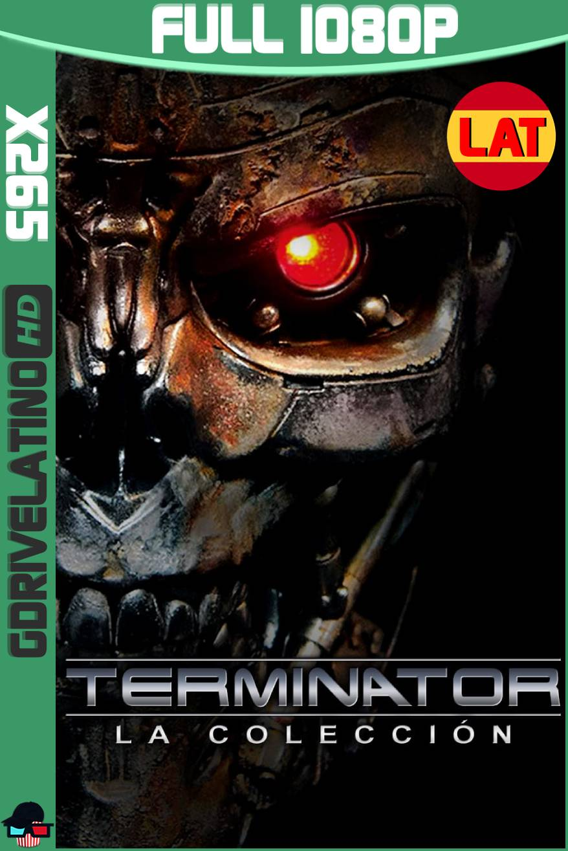 Terminator Colección (1984-2019) BDRIP 1080p x265 10bits Latino-Ingles MKV
