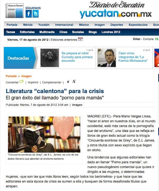 Yucatán | Literatura 'calentona' para la crisis