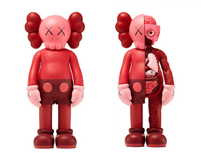 KAWS Companion Blush Vinyl Figures – Open Edition & Flayed Edition