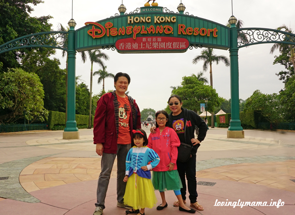 Hong Kong Disneyland - travel with kids