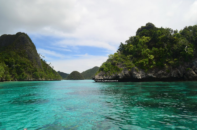 Wayag, Raja Ampat - destinasi hijau Papua Ⓒjelajahsuwanto