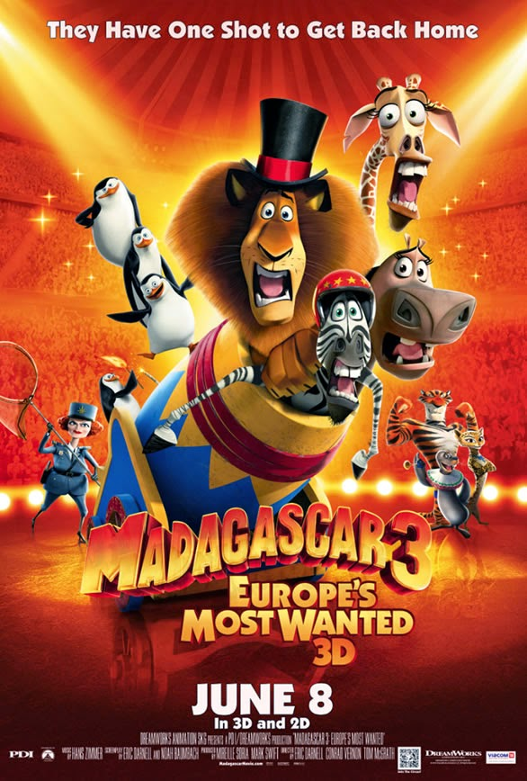 Watch Madagascar 3 Europe's Most Wanted (2012) Online For Free Full Movie English Stream