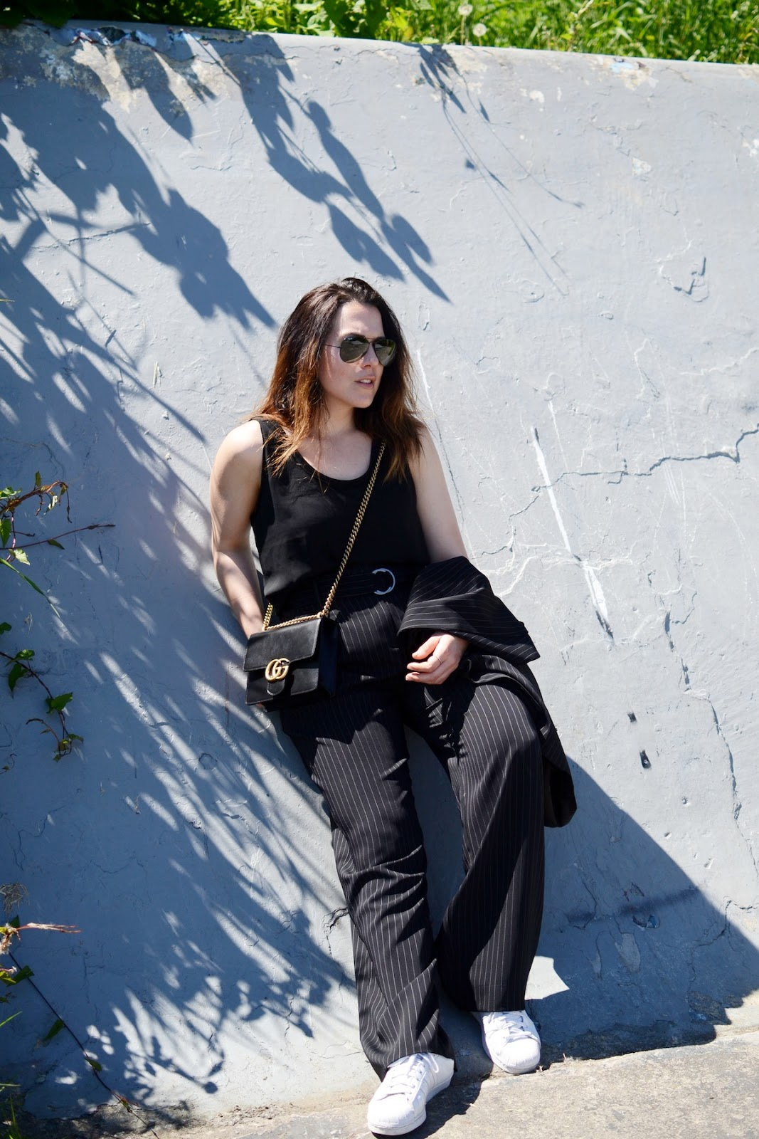 Le Chateau made in Canada suiting vancouver fashion blogger.